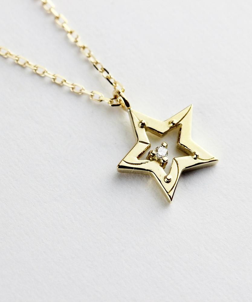 トゥー プライ 627 シューティング スター ダイヤモンド ネックレス 18金,two ply Shooting Star Diamond Necklace K18