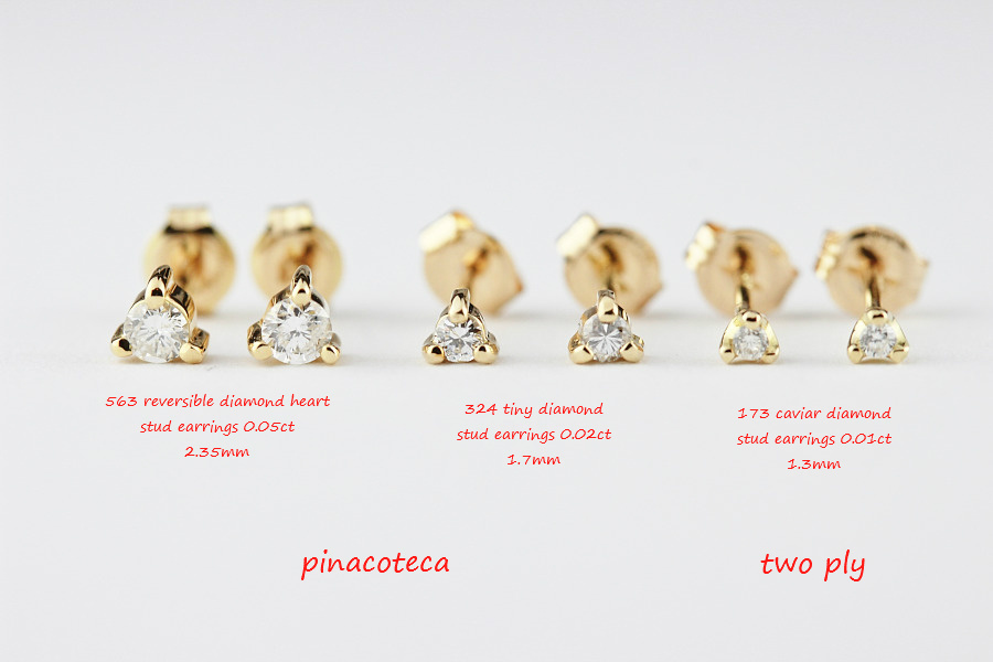 華奢ピアス 人気 18金 比較 一粒ダイヤモンド,人気ブランド レデッサンドゥデュー K18