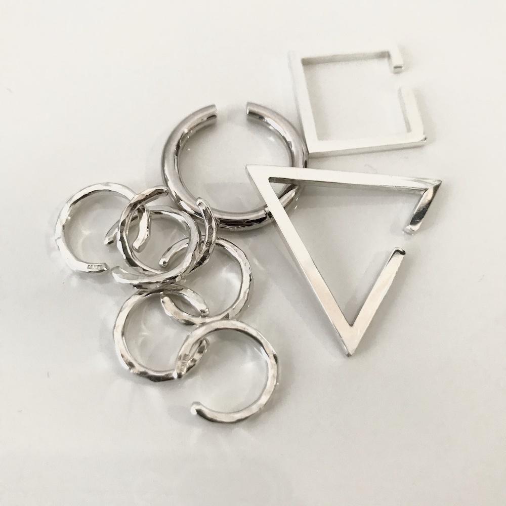デュー イヤーカフ シルバー925,DIEU Ear cuffs Silver 925