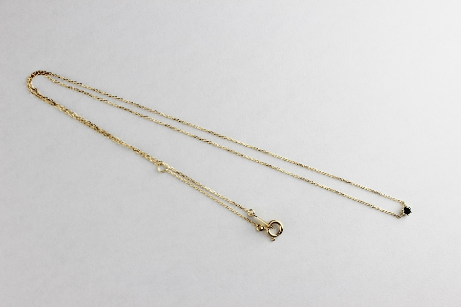 レデッサンドゥデュー 61 6本爪一粒ダイヤモンド ネックレス 18金,les desseins de DIEU Petit Diamond Necklace 0.05ct K18