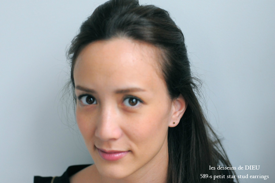 レデッサンドゥデュー 589-S プチ スター スタッド ピアス K18,les desseins de DIEU Petit Star Stud earrings 18金