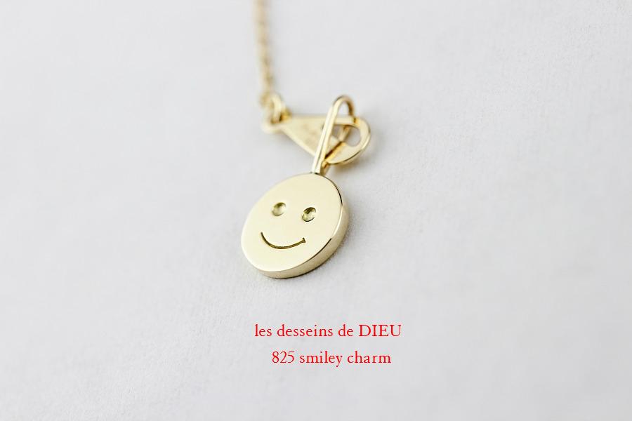 レデッサンドゥデュー 825 スマイル にこちゃん 華奢チャーム 18金,les desseins de DIEU Smile Charm K18