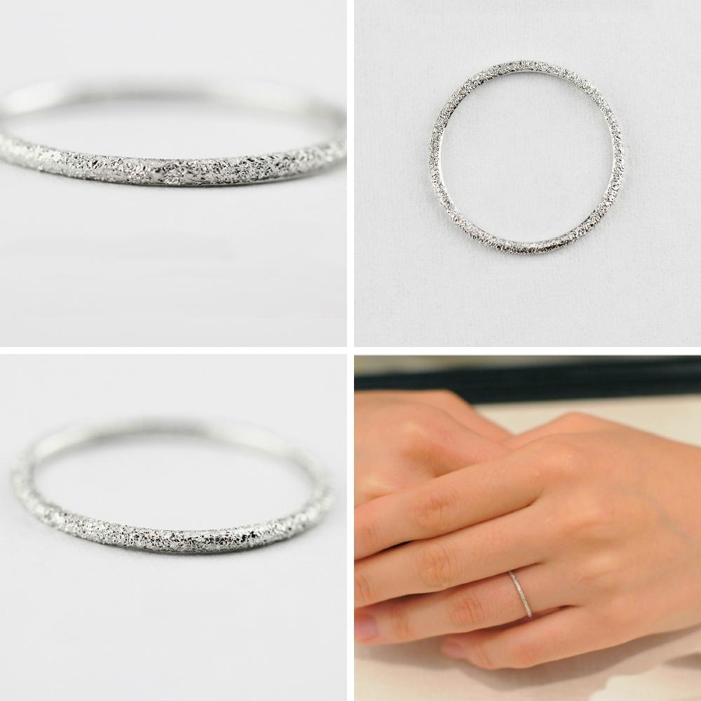 ピナコテーカ 375 ラメ ダイヤモンド 華奢 リング 18金,pinacoteca Lame Diamond Ring K18WG