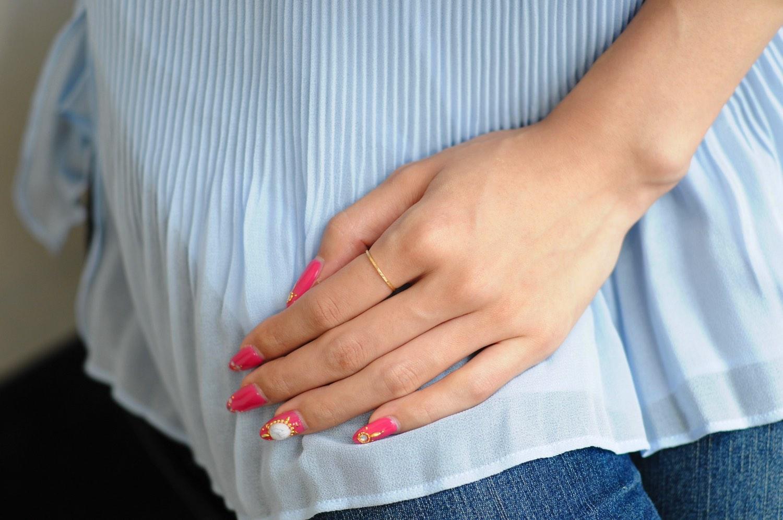 ピナコテーカ 684 フラット ゴールド バー  華奢リング ピンキーリング 18金,pinacoteca Flat Gold Bar Ring Pinky Ring K18