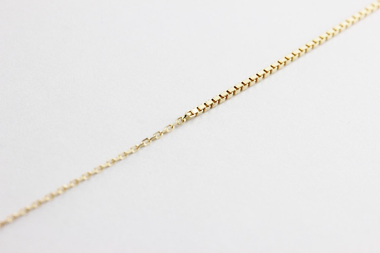 ピナコテーカ 693 エレガント ライン ベネチアン コンビ 華奢ブレスレット 18金,pinacoteca Elegant Line Venetian Chain Bracelet K18