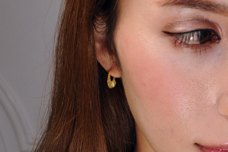 ピナコテーカ 707 アーバン シャイン ティアドロップ スタッド フープピアス 18金,pinacoteca Urban Shine Teardrop Stud Hoop Earrings K18