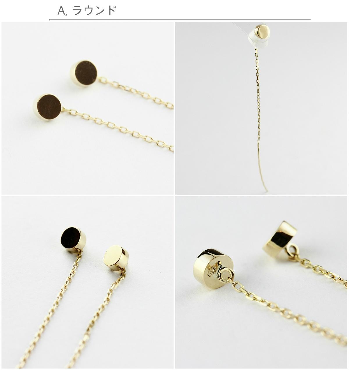 ピナコテーカ ラウンド マグネット スタッド アメリカン ピアス 18金,pinacoteca Round Magnet Stud American Earrings K18