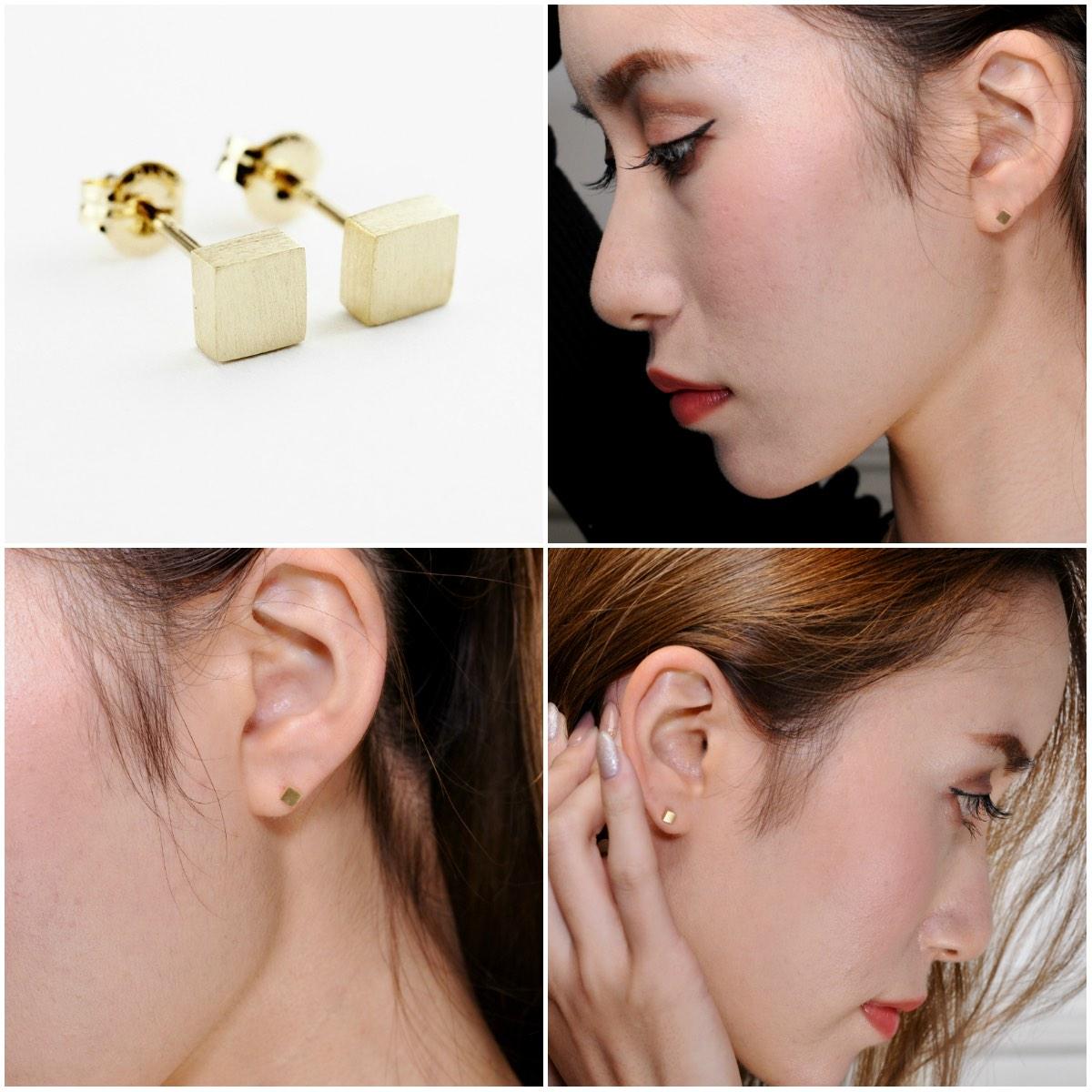 ピナコテーカ マグネット 華奢 スタッド ピアス 18金,pinacoteca Magnet Stud Earrings K18